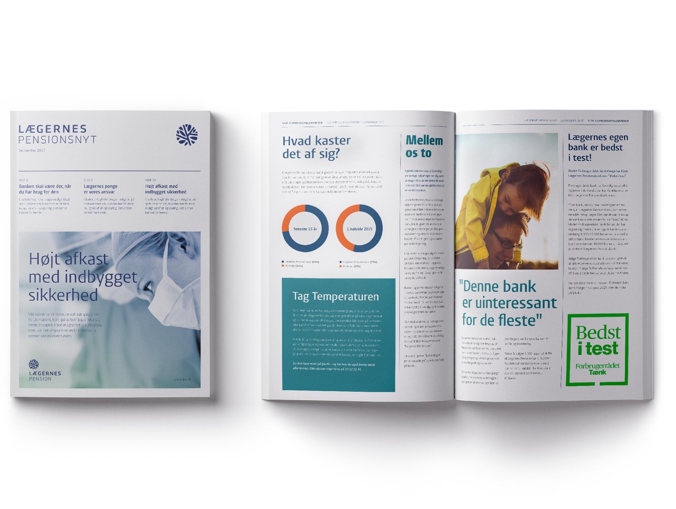 Corporate Visual Identity - Magazine Design
