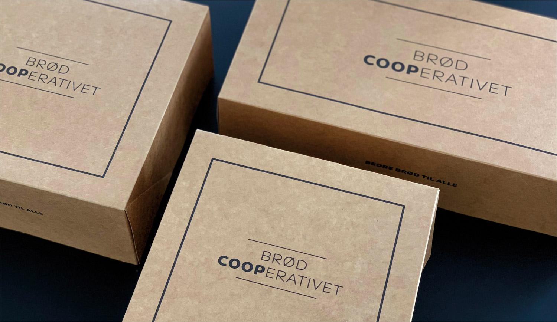 Packaging design for Coop Brødcooperativet